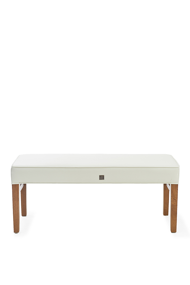 copenhagen bench 120 cm pellini white rivi ra maison. Black Bedroom Furniture Sets. Home Design Ideas
