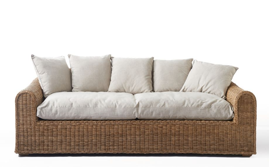 Rattan sofa mit bettfunktion rattan gartenbank schwarz for Sessel quietscht