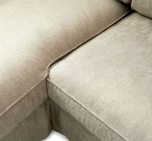 Brompton Cross Corner Sofa Chaise Longue Left Washed Cotton Natural / Rivièra Maison