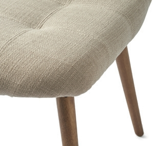 Duke Dining Chair Polyester Linen Carbon / Rivièra Maison