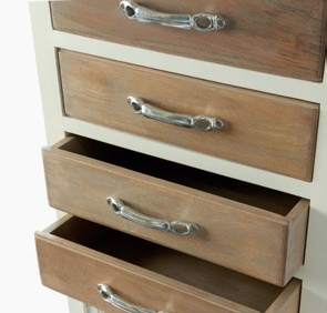 Long Key Chest with Drawer and Doors / Rivièra Maison