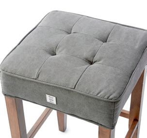 Madison Barstool Cotton Graphite / Rivièra Maison