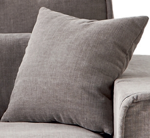 Metropolis Love Seat Washed Cotton Ash Grey / Rivièra Maison