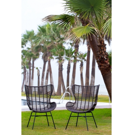 Outdoor Carolina Port Wing Chair / Rivièra Maison
