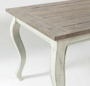 Outdoor Driftwood Dining Table 230x100 / Rivièra Maison-1