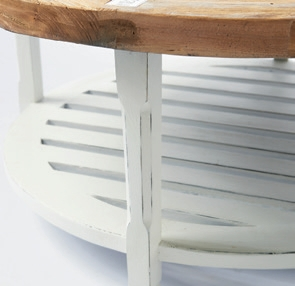 Pearlington Coffee Table 90cm / Rivièra Maison