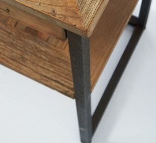 Shelter Island Side Table with Drawer / Rivièra Maison