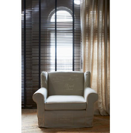 The Classic The Seasons Love Seat Linen Flax Ivory / Rivièra Maison