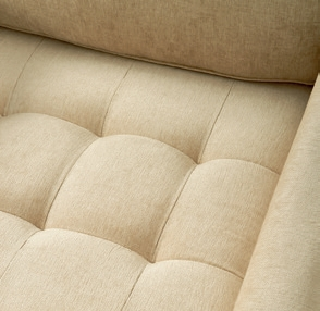 West Houston Armchair washed cotton brown / Rivièra Maison