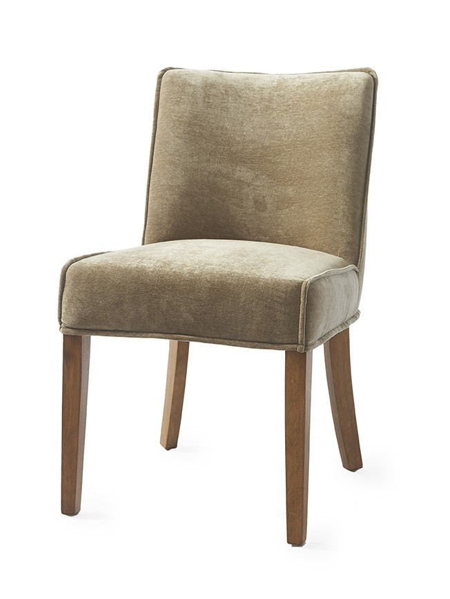 Bridge Lane Dining Chair Velvet Olive / Rivièra Maison