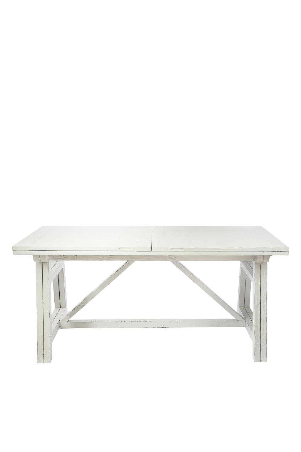 Cala Bassa Dining Table White 170/340x90 cm / Rivièra Maison