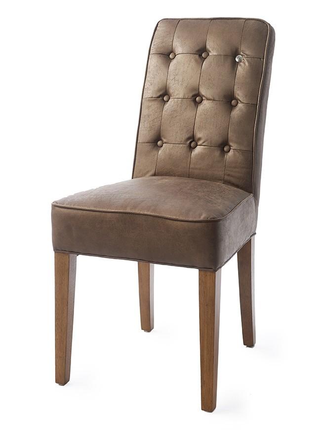 Cape Breton Dining Chair pellini coffee / Rivièra Maison