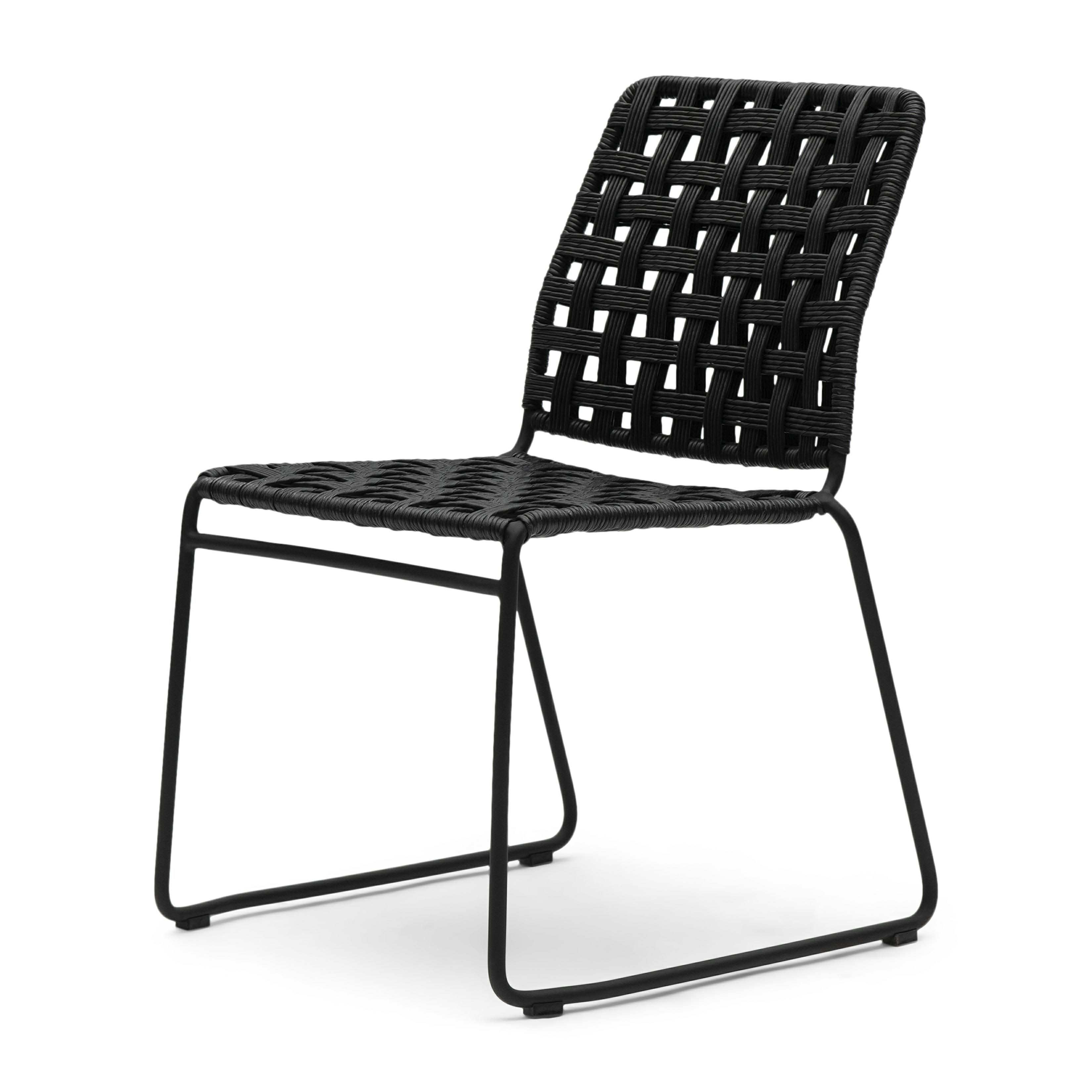 Christopher Outdoor Stackable Chair Lava / Rivièra Maison