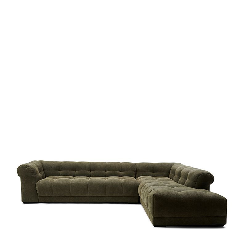 Cobble Hill Corner Sofa Right celtic weave pacific turtle / Rivièra Maison