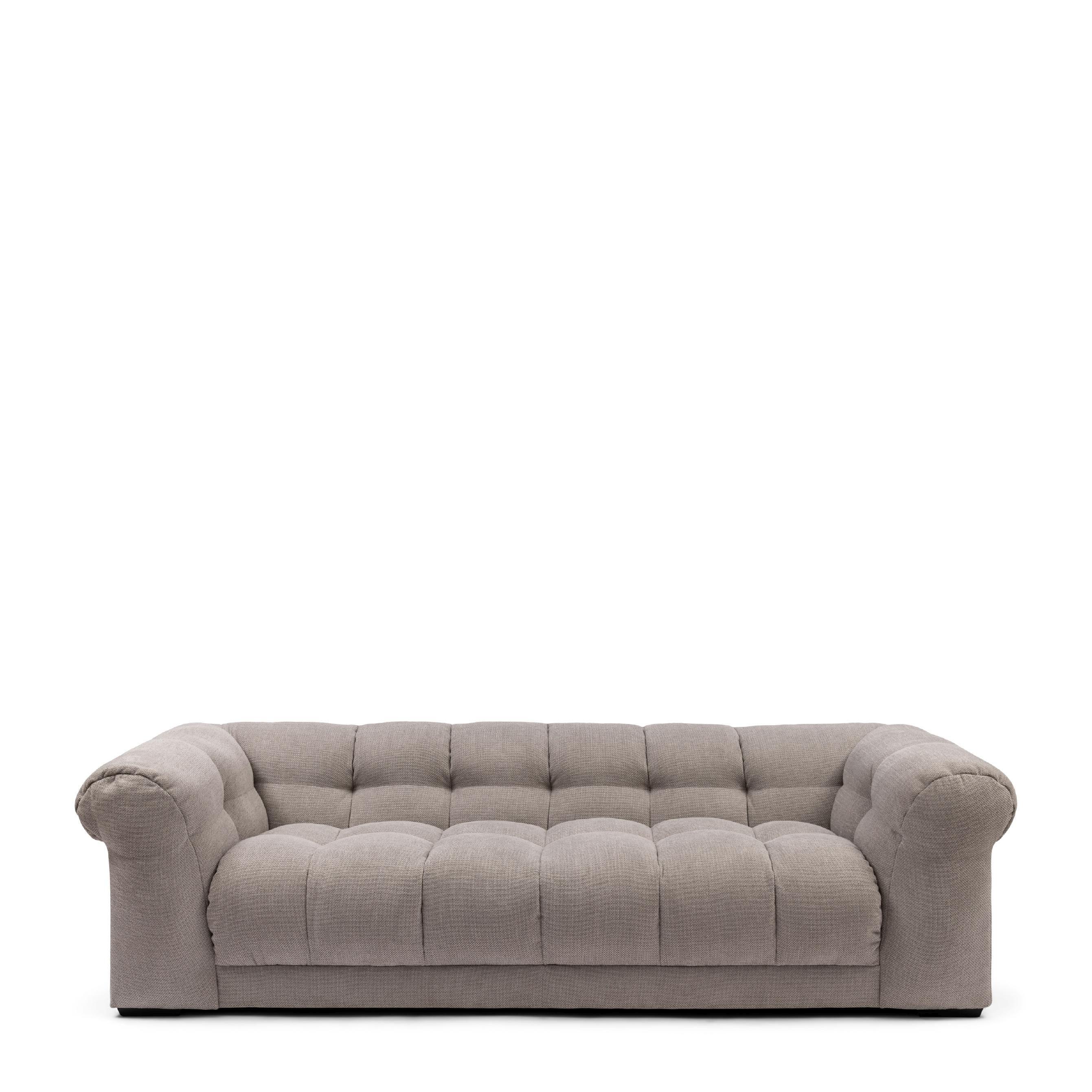 Cobble Hill Sofa 3,5 Seater celtic weave pebbles stone / Rivièra Maison