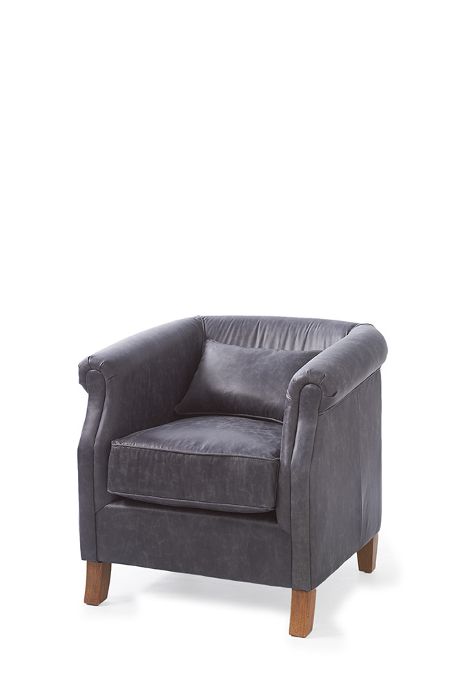 Cutler Park Club Chair Pellini Anthracite / Rivièra Maison
