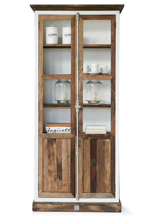 Driftwood Glass Cabinet / Rivièra Maison