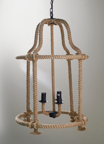 French Chantilly Rope Lamp / Rivièra Maison