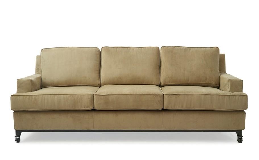 Fulton Street Sofa 3,5 Seater Velvet Granite / Rivièra Maison