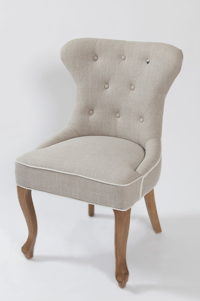 George Dining Chair Linen / Rivièra Maison-1