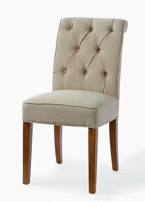 Hampton Classic Dining Chair Linen Flax / Rivièra Maison