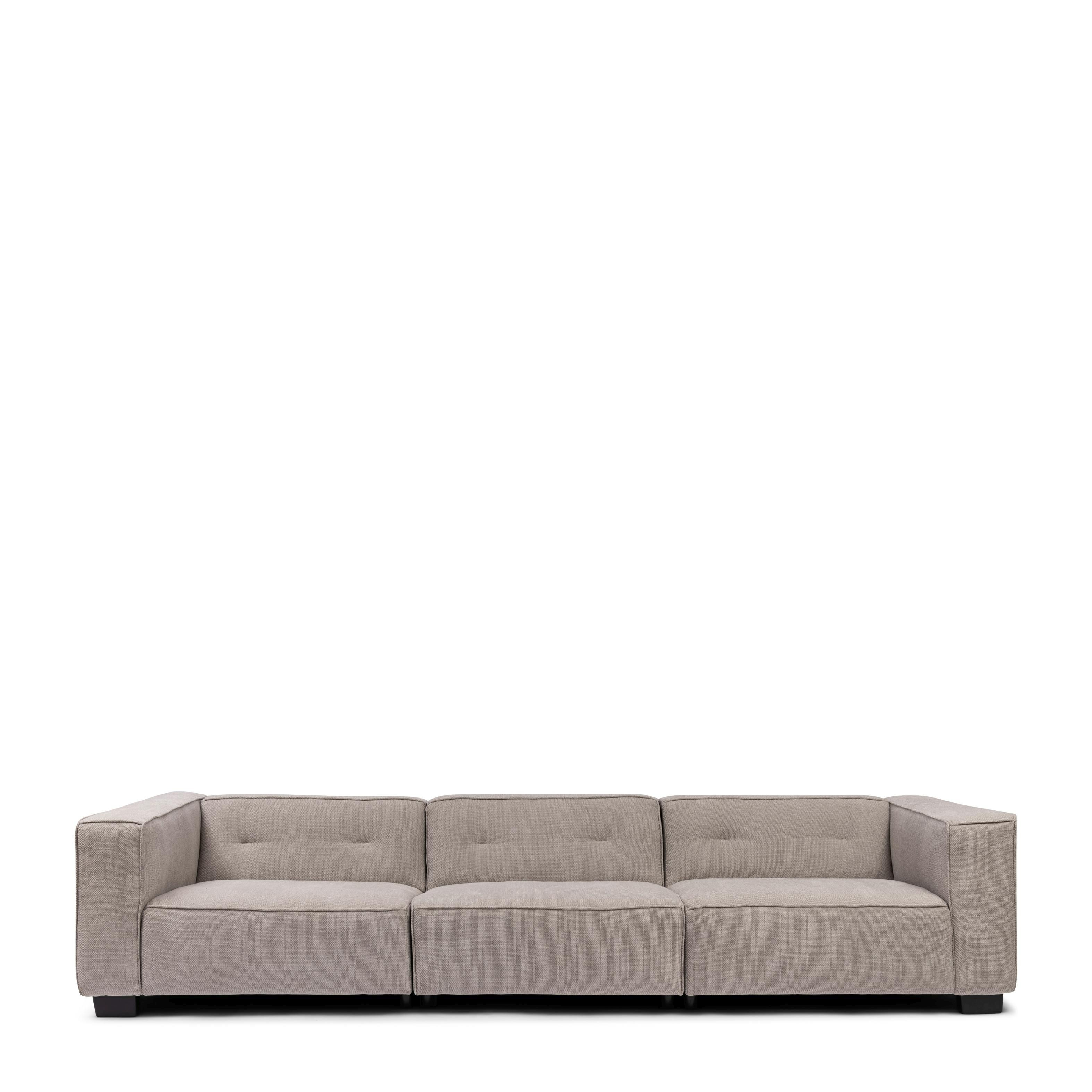 Hampton Heights Sofa XL washed cotton ash grey / Rivièra Maison