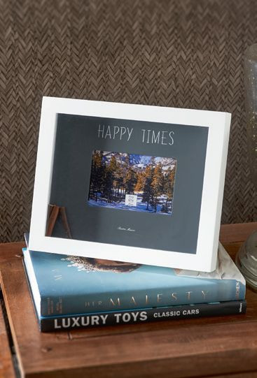 Happy Times Photo Frame 15x10 / Rivièra Maison