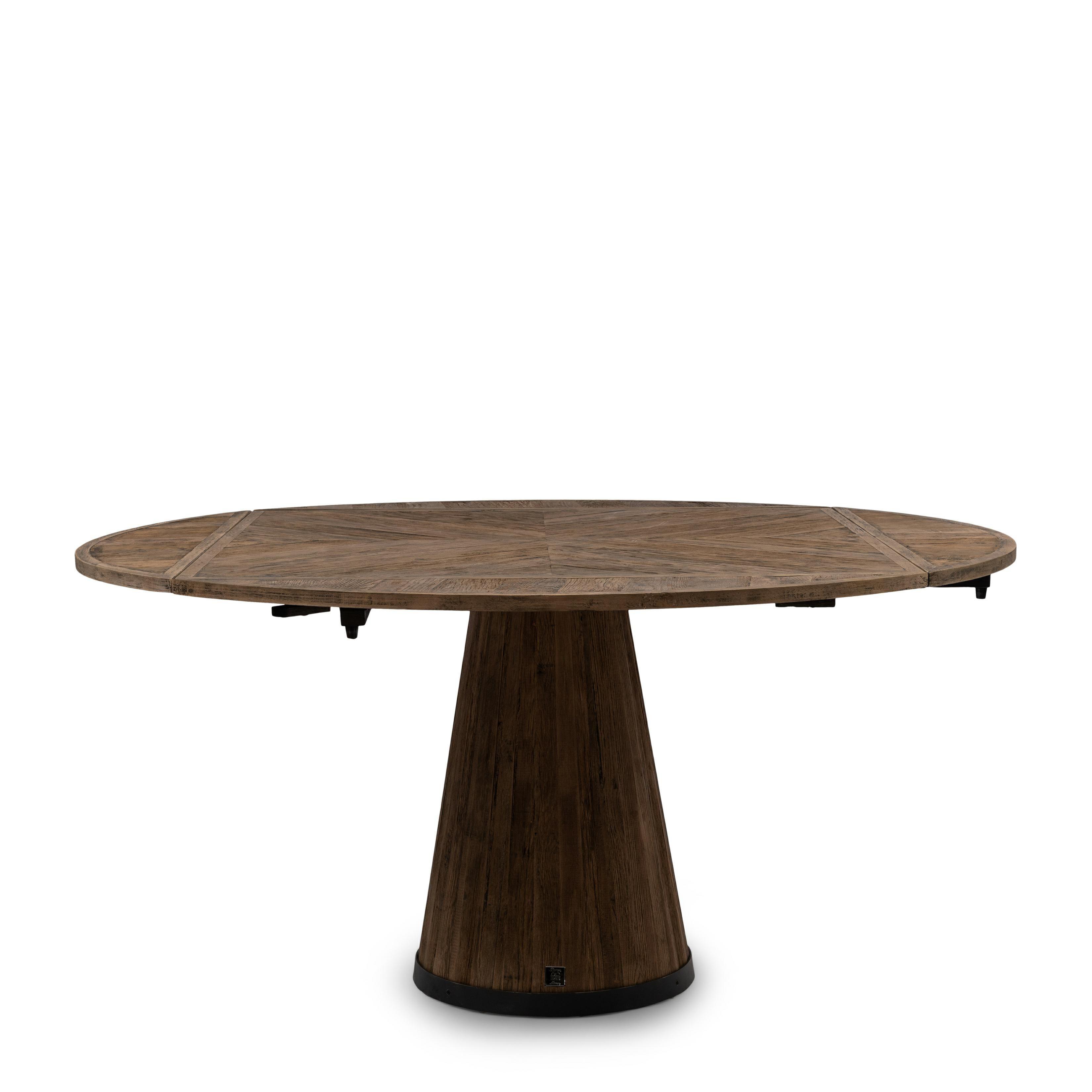 Harisson Drop Leaf Dining Table Dia 160 / Rivièra Maison
