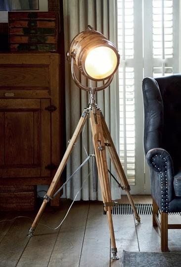 Hollywood Studio Floor Lamp / Rivièra Maison