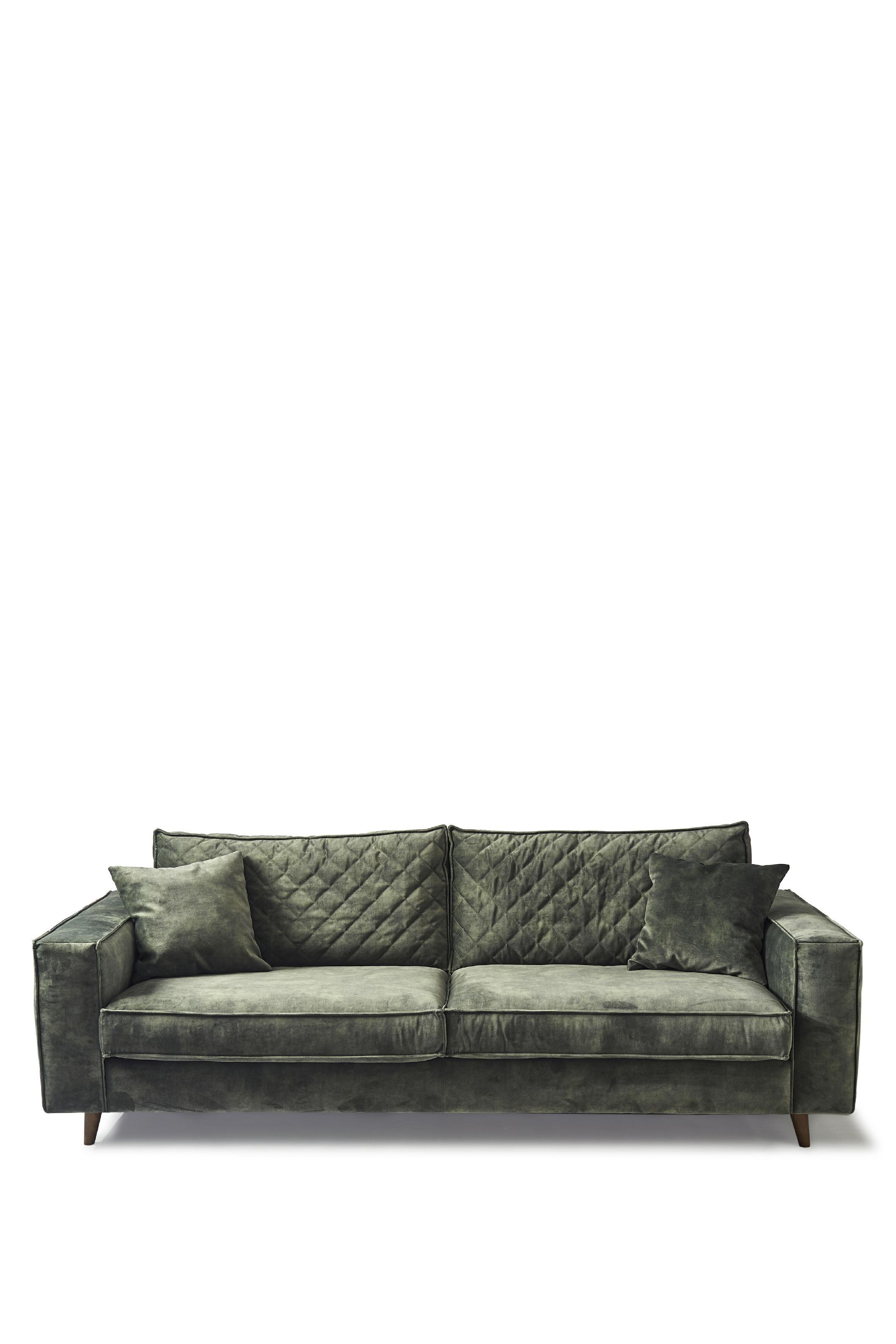 Kendall Sofa 3,5 Seater velvet ivy / Rivièra Maison