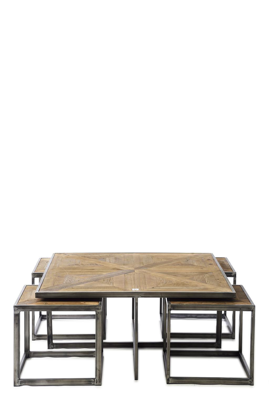 Le Bar Americain Coffee Table Set/5 / Rivièra Maison