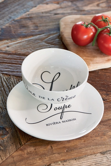 Lets Have Soup Set / Rivièra Maison