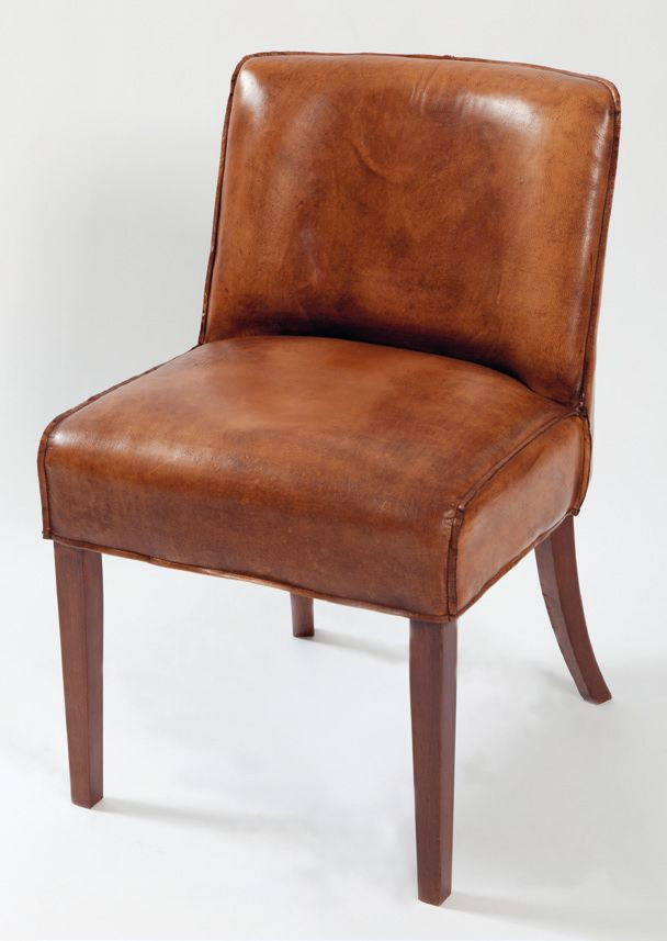 Luca Dining Chair Leather Brown / Rivièra Maison
