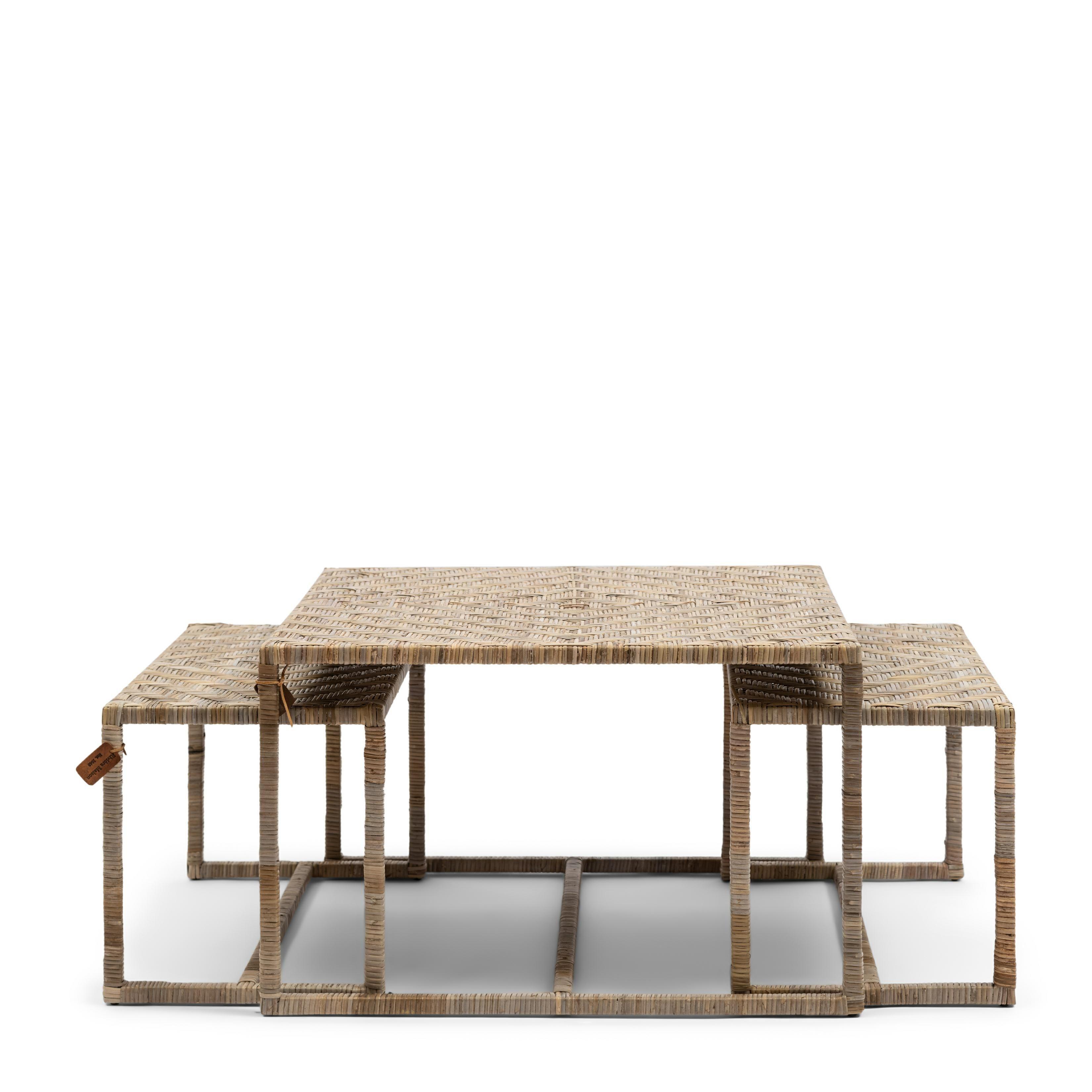 Medan Coffee Table Set 3 / Rivièra Maison