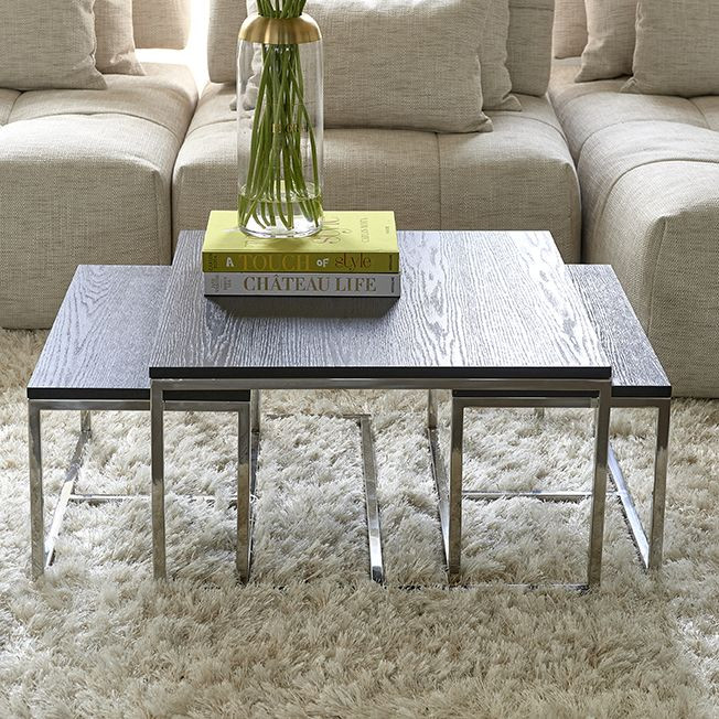 Nomad Coffee Table S3 Black / Rivièra Maison