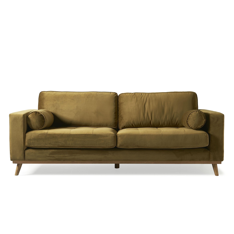 Notting Hill Sofa 3,5 Seater velvet windsor green / Rivièra Maison
