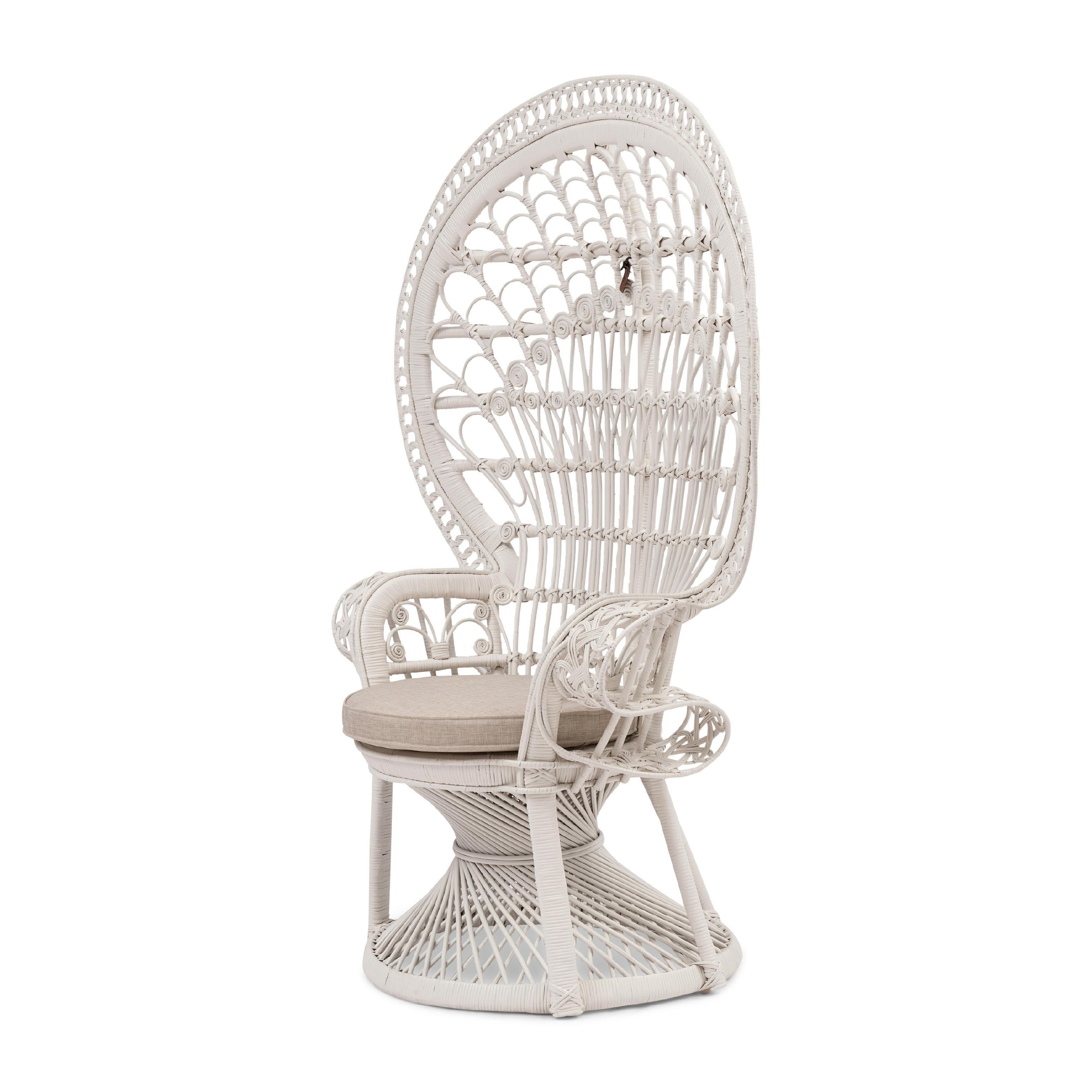 Peacock Chair White / Rivièra Maison