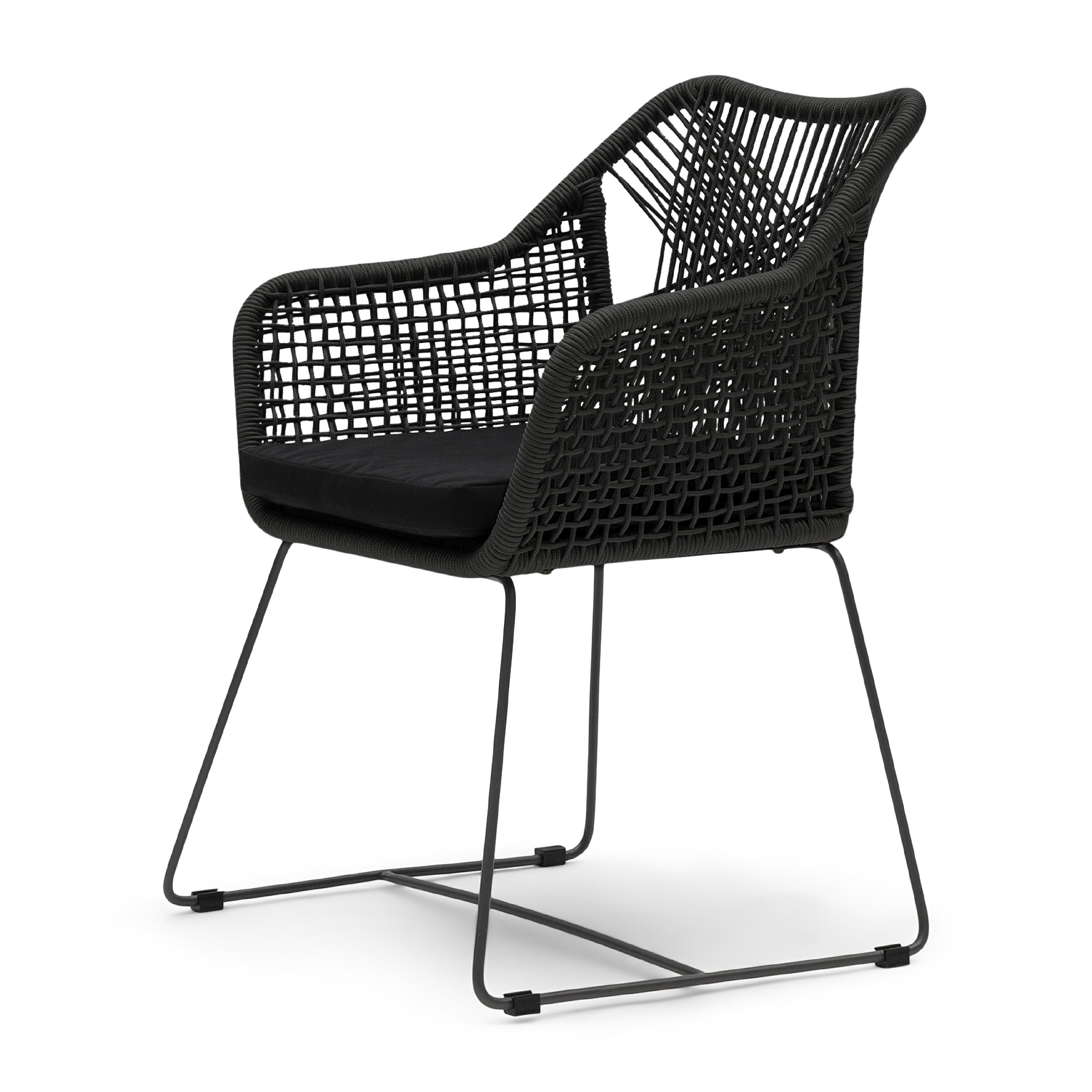 Puerto Rico Outdoor Dining Armchair With Cushion / Rivièra Maison