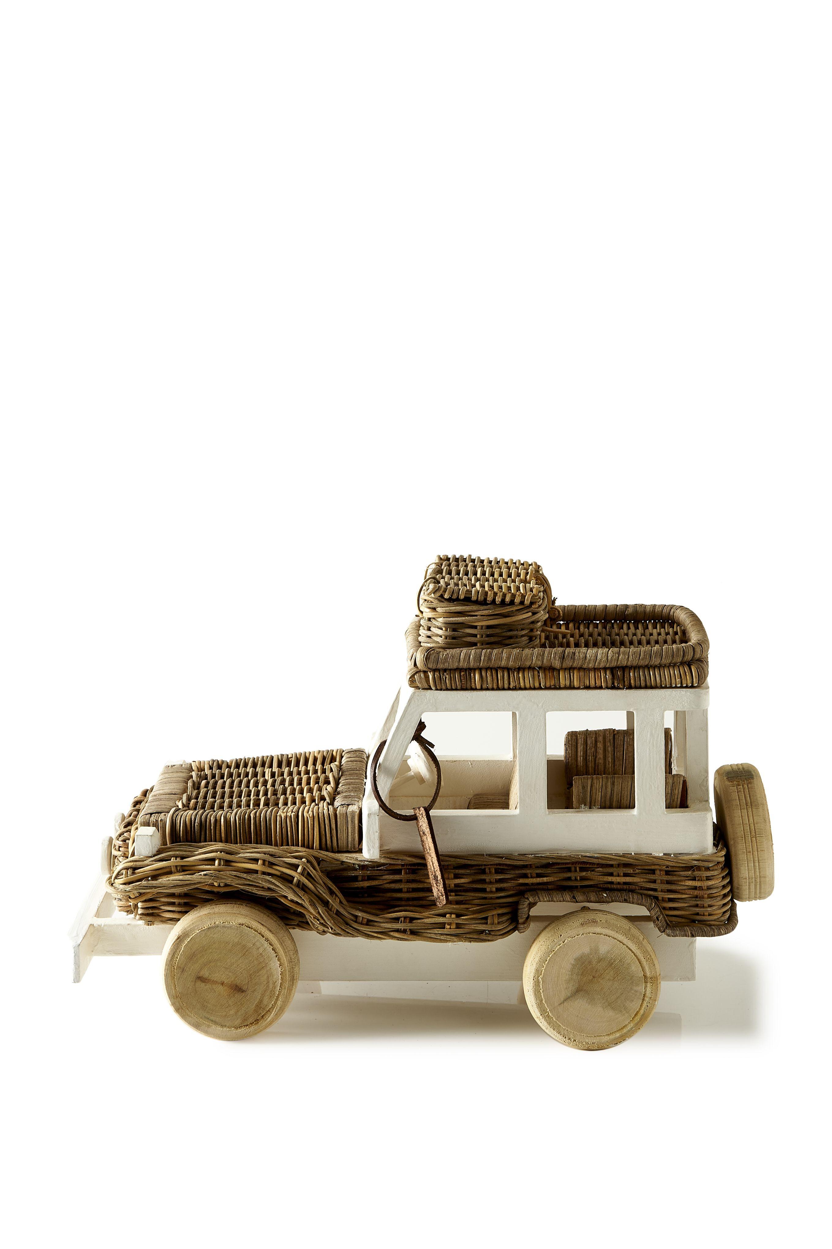 Rustic Rattan Desert Jeep / Rivièra Maison