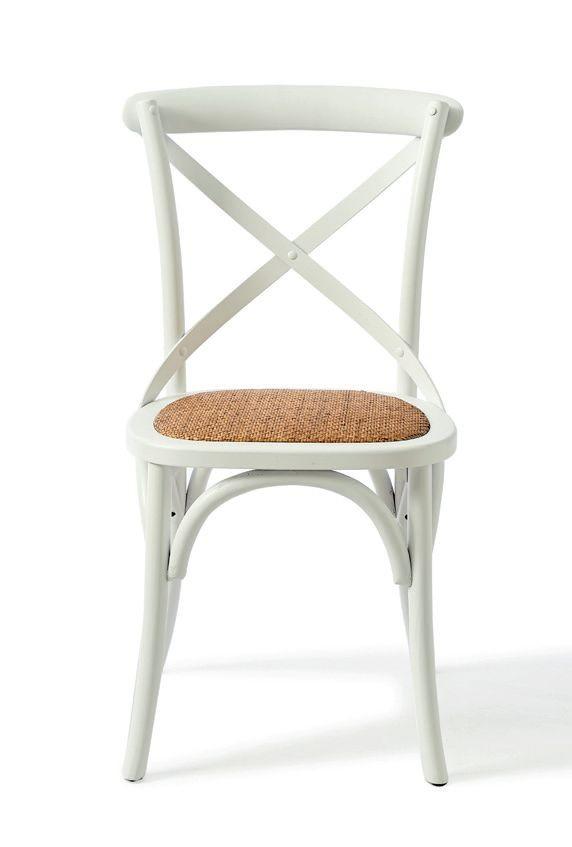 Saint Etienne Dining Chair White / Rivièra Maison