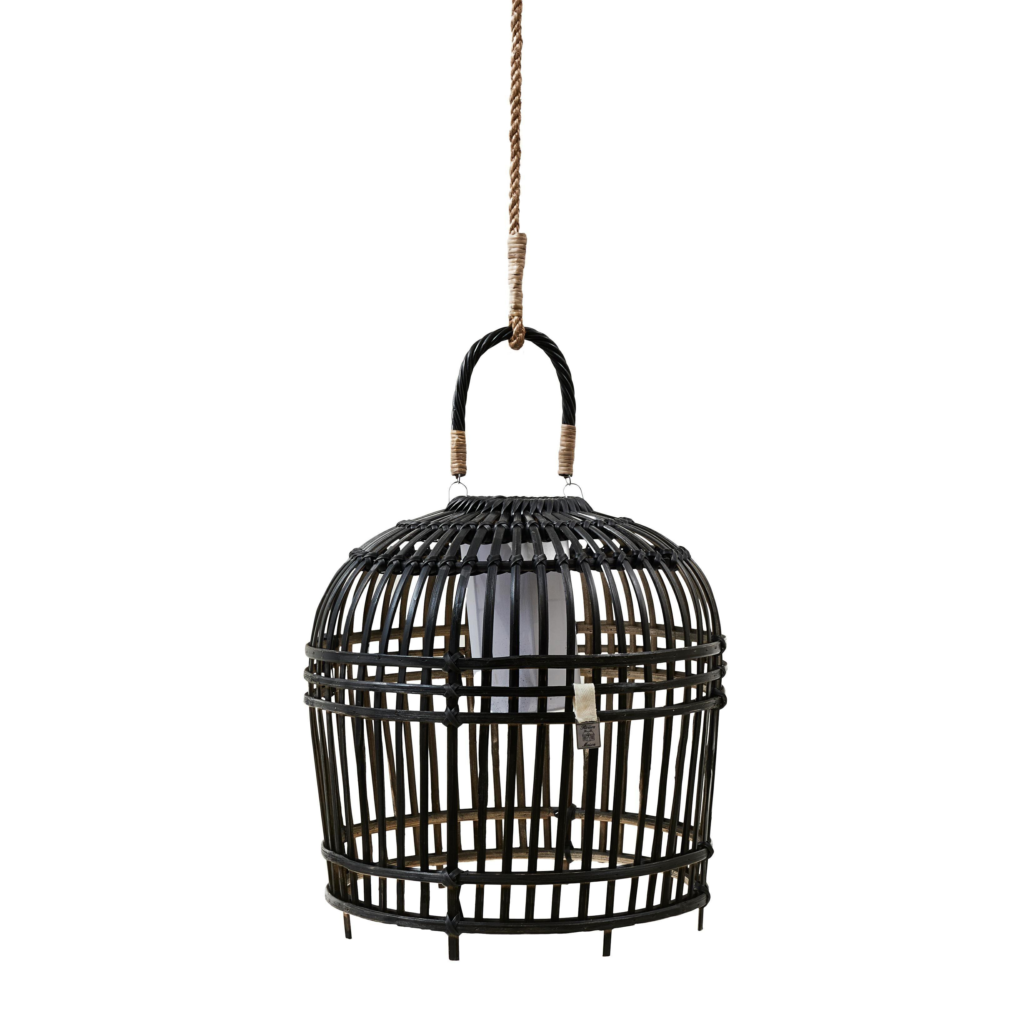 San Carlos Hanging Lamp black S / Rivièra Maison