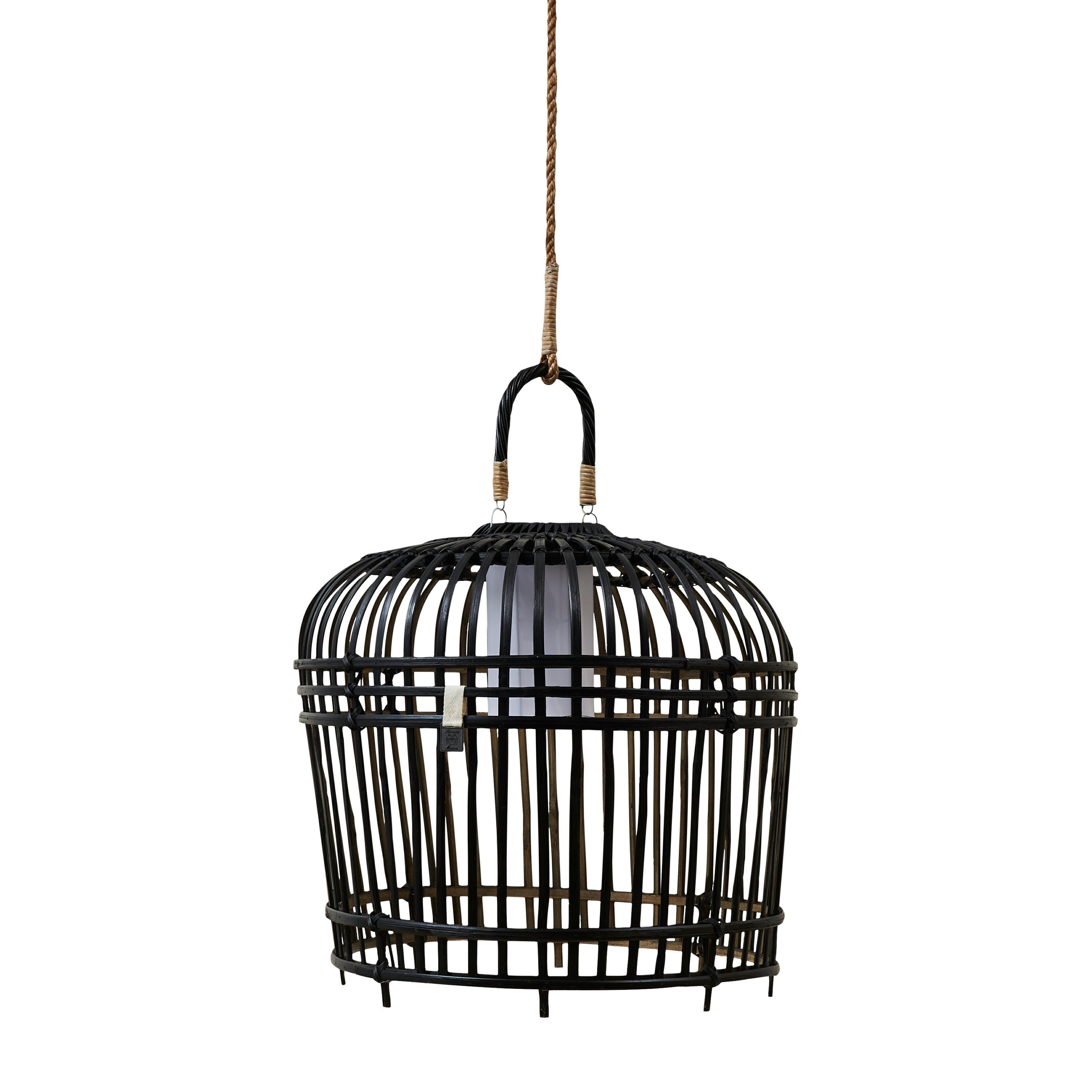 San Carlos Lamp black M / Rivièra Maison