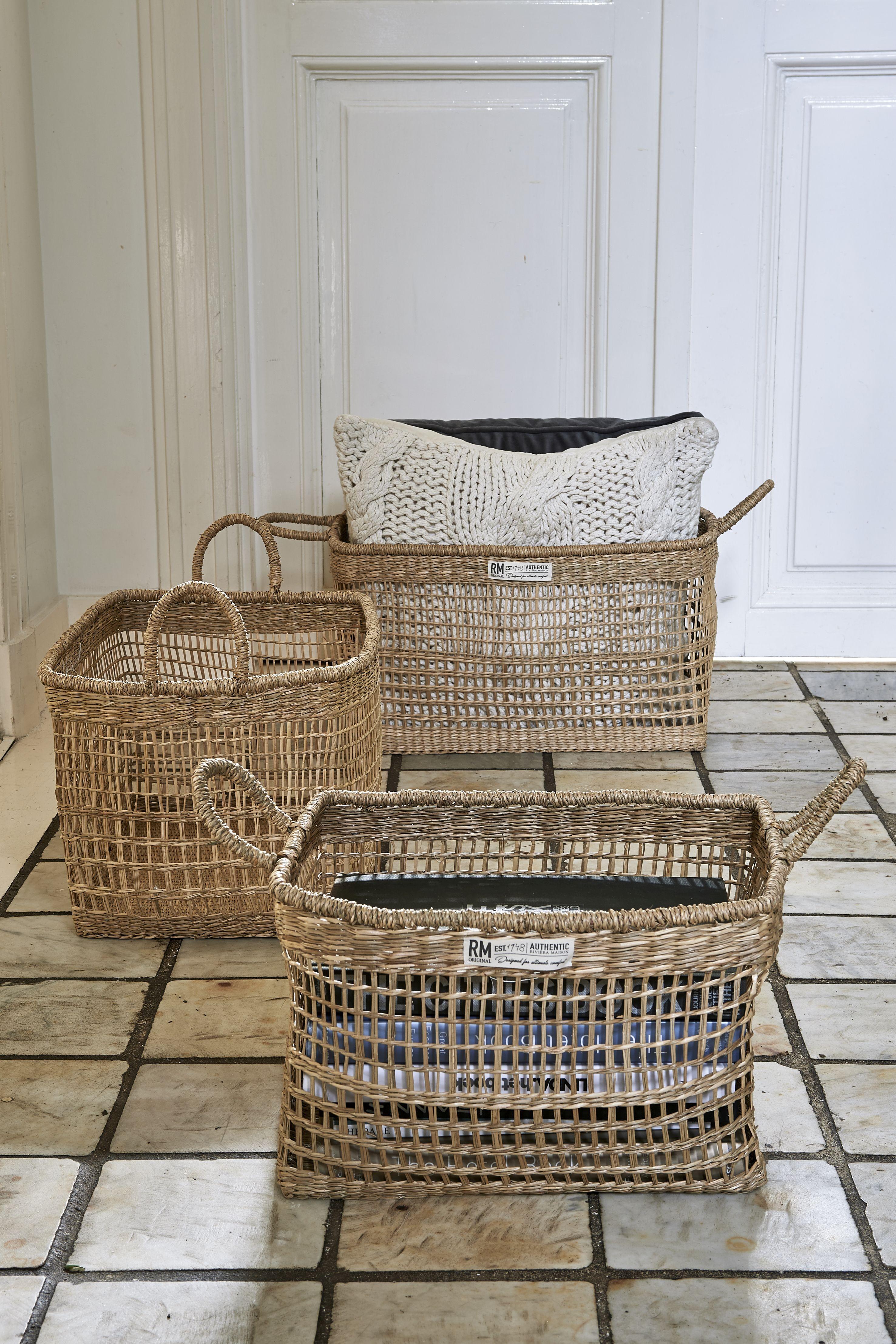Serene Island Rectangular Basket S 3 / Rivièra Maison
