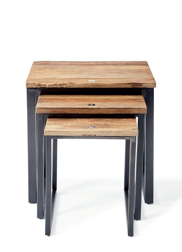 Shelter Island End Table S/3 / Rivièra Maison