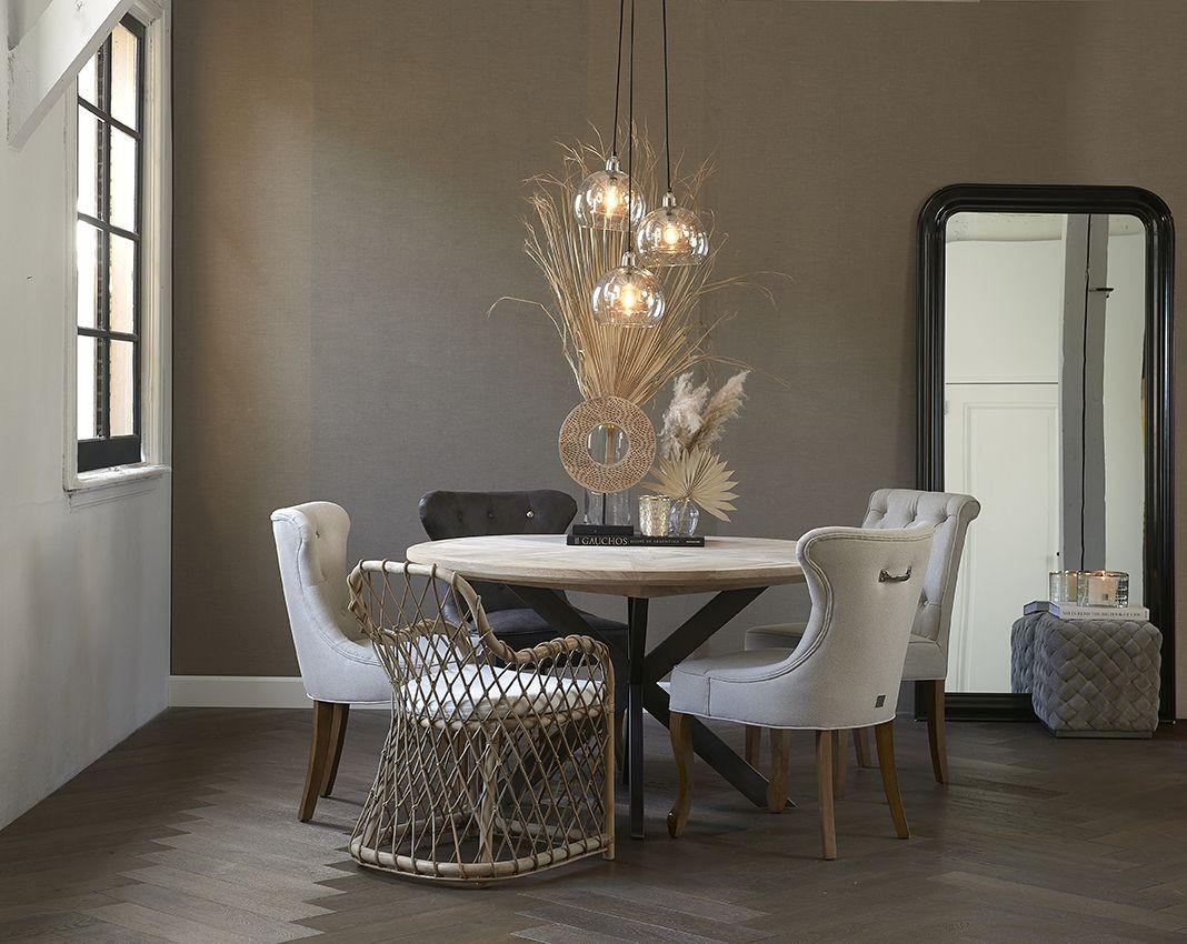 Stuart Dining Table Dia 140 / Rivièra Maison