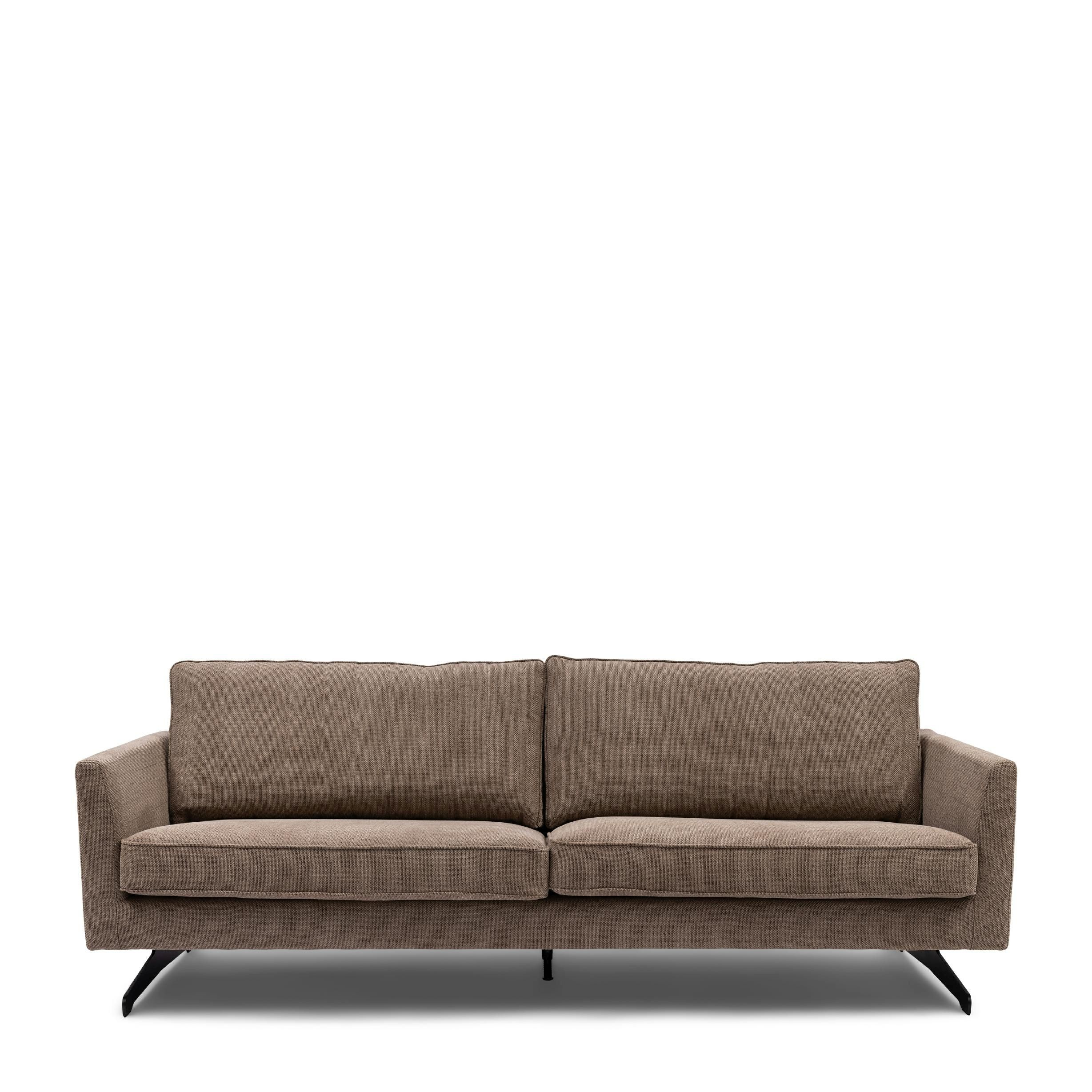 The Camille Sofa 3 Seater celtic weave melting silver / Rivièra Maison