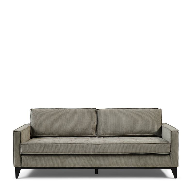 The Jake Sofa 3,5 Seater italian rib mouse / Rivièra Maison