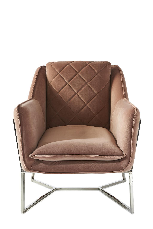 Walker Park Armchair, velvet, blush / Rivièra Maison