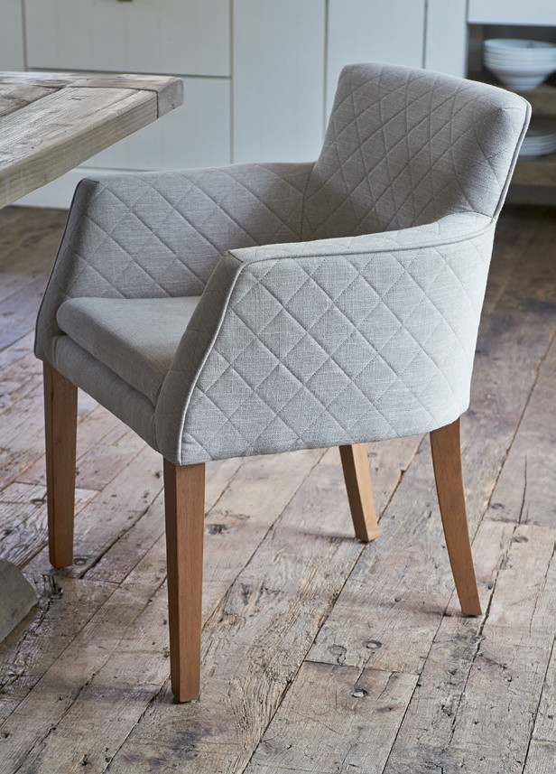Waverly Arm Dining Chair linen / Rivièra Maison-1