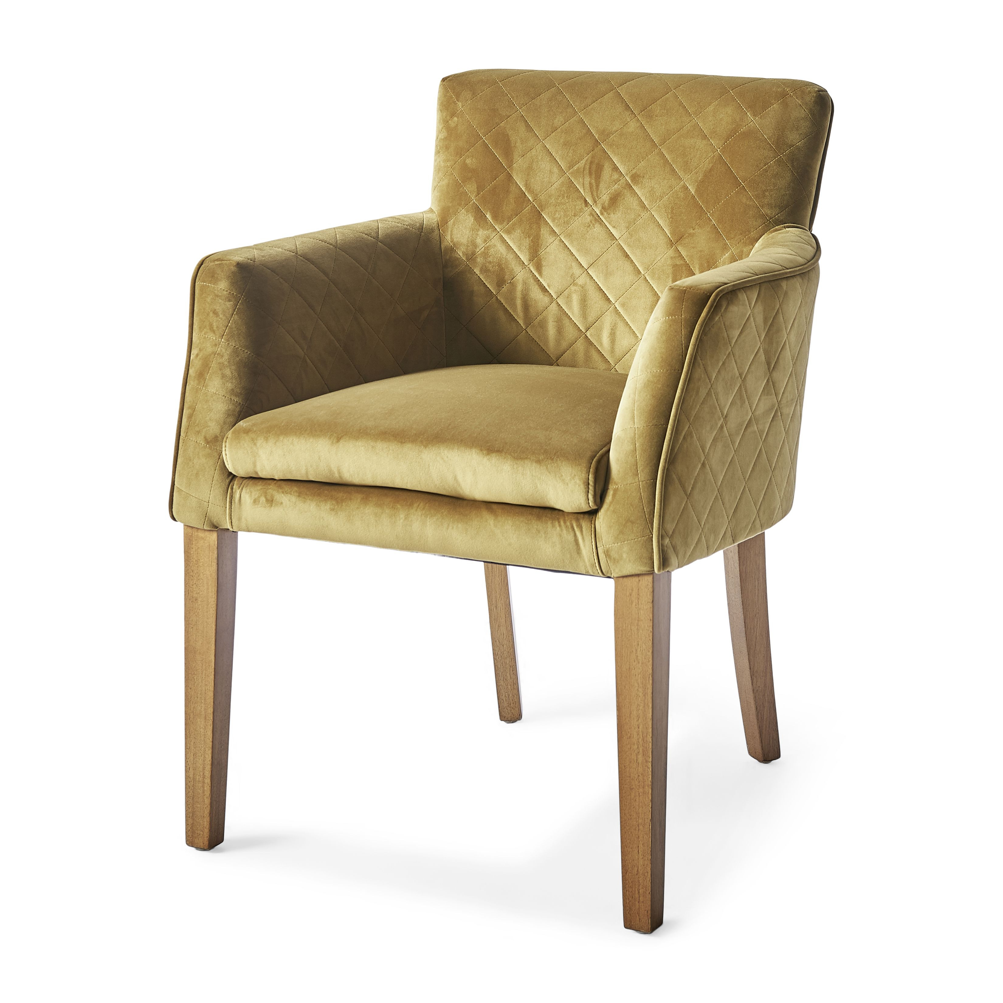 Waverly Dining Armchair velvet windsor green / Rivièra Maison